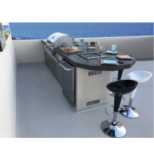 Cucina da esterno - Esempio 4