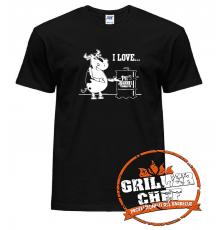 PIT BARREL cow celebratory t-shirt